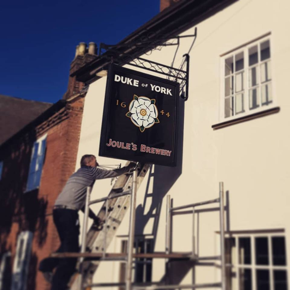 Duke of York Swing Sign