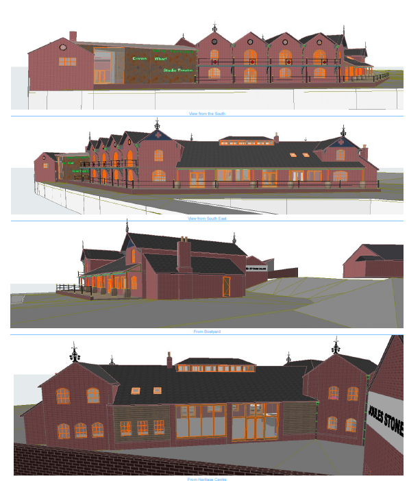 Joules Crown Wharf Elevations