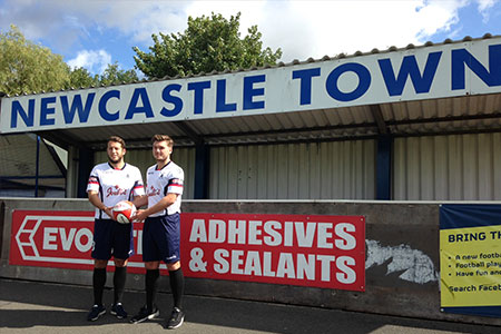 Newcastle Town Football Club Officially Welcomes New Main Sponsor Joule's Brewery