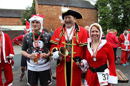 The Spectical Of The Joule's Charity Turkey Trot Returns For A Fifth Year